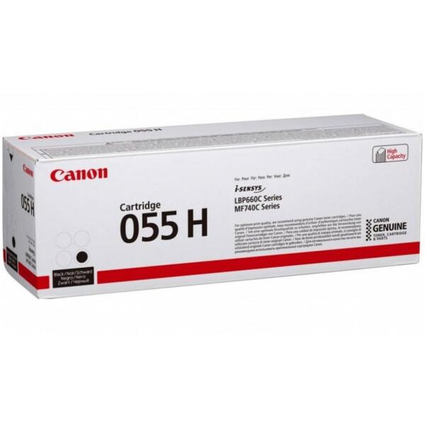 Картридж CANON 055 H BK (3020C002)