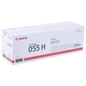 Картридж CANON 055H Y для Canon LBP663Cdw/664Cx/MF742Cdw/744Cdw/746Cx