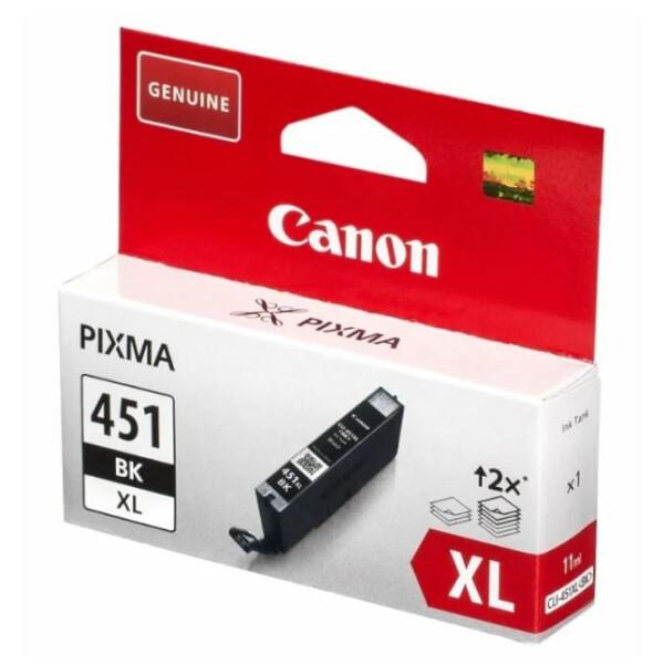 Картридж Canon CLI-451BK XL (6472B001)