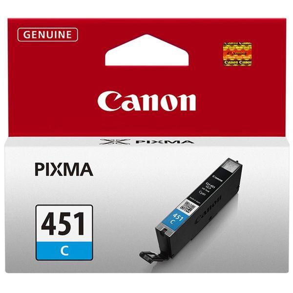 Картридж CANON CLI-451C голубой