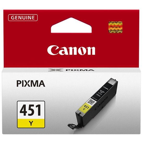 Картридж CANON CLI-451Y желтый