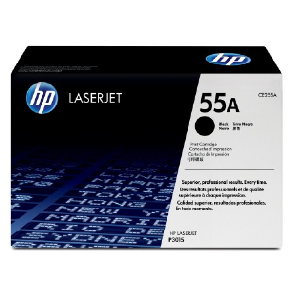 Картридж HP 55A CE255A