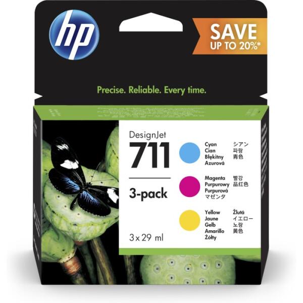 Картридж HP 711 3-pack P2V32A
