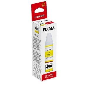 Катридж Canon GI-490Y (0666C001) для Canon PIXMA G1400