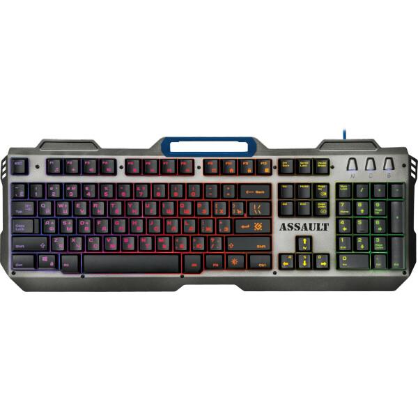 Клавиатура Defender Assault GK-350L RU