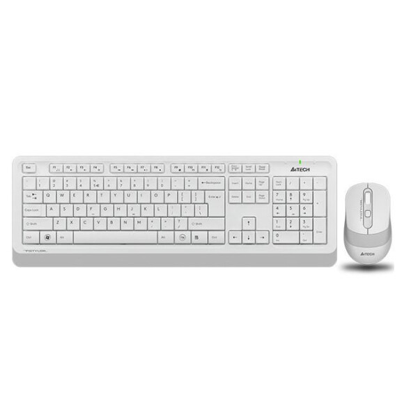Клавиатура + мышь A4Tech Fstyler FG1010 (белый/серый)
