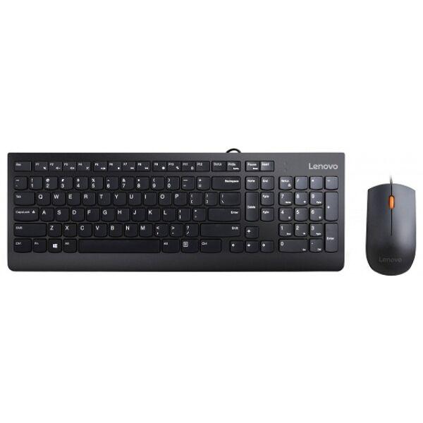 Клавиатура + мышь Lenovo Essential Wired Combo (4X30L79912)