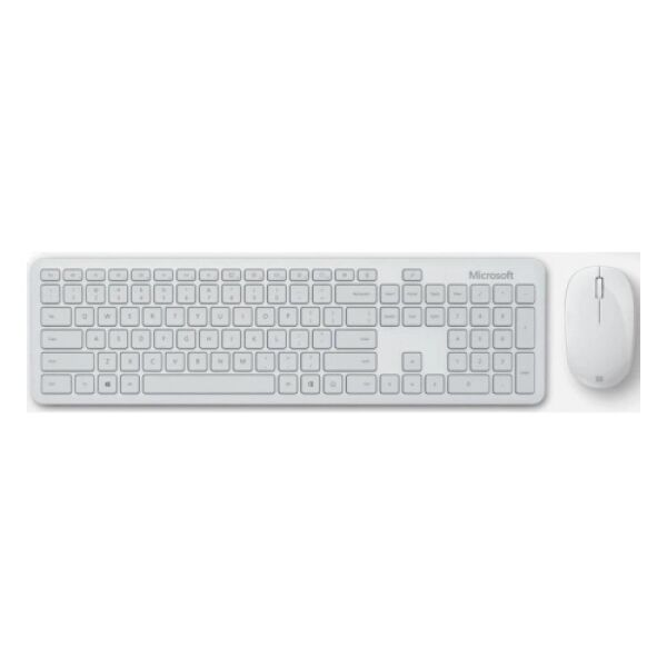 Клавиатура + мышь Microsoft Atom Desktop Bluetooth (белый)