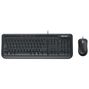 Клавиатура + мышь Microsoft Wired Keyboard Desktop 600 3J2-00015