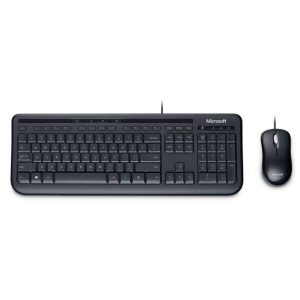 Клавиатура + мышь Microsoft Wired Keyboard Desktop 600 APB-00011