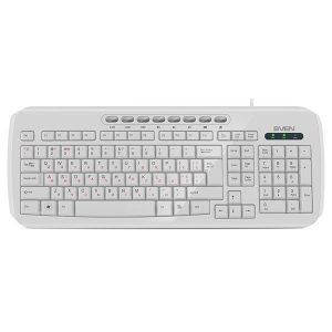 Клавиатура SVEN KB-C3050 White