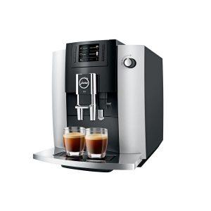Кофемашина JURA E6 (платиновый)
