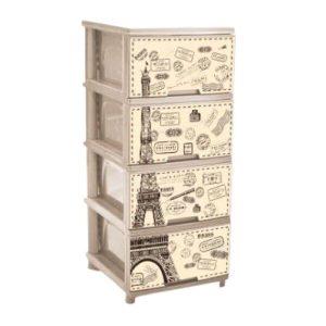 Комод Алеана Париж 123093 (кремовый)