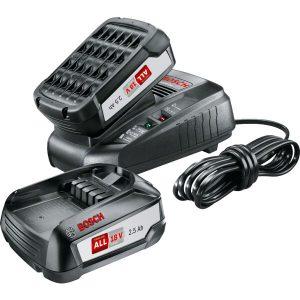 Комплект BOSCH зарядное устройство AL1830CV + 2 аккумулятора 18.0 В PBA18 V (1600A011LD)