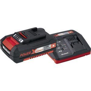 Комплект Einhel PXC зарядное устройство + аккумулятор 18x1.5 Ah (4512021)