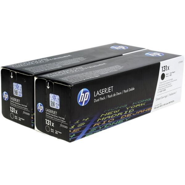 Комплект картриджей HP 33A 131X (CF210X) 2 шт.