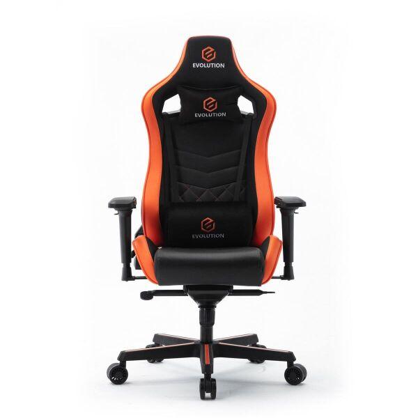 Компьютерное кресло Evolution Avatar (черный/оранжевый)