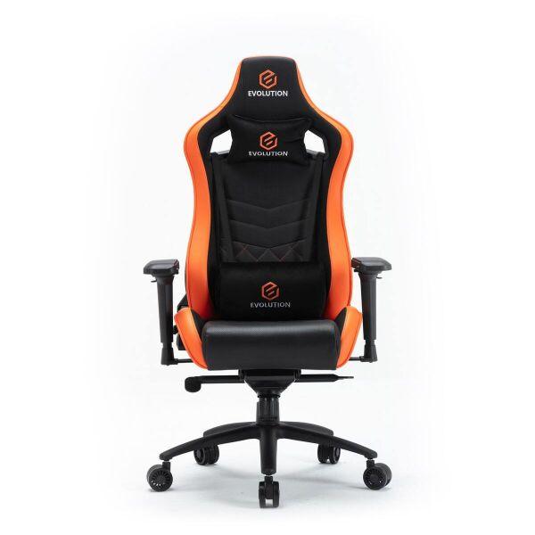 Компьютерное кресло Evolution Avatar M (черный/оранжевый)