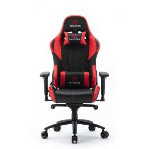 Компьютерное кресло Evolution Racer M (черный/красный)
