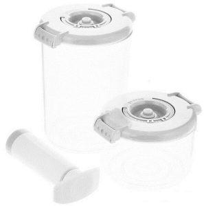 Контейнеры для вакуумных упаковщиков STATUS VAC-RD-Round White