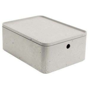 Коробка Curver Beton M 8л 243400