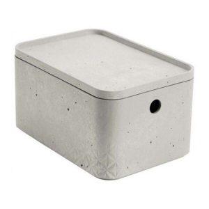 Коробка Curver Beton S 4л 243399