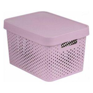 Коробка Curver Infinity 17л (розовый) 229152