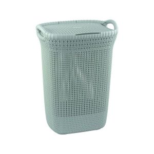 Корзина Curver Knit Laundry Hamper (228411) бирюзовый