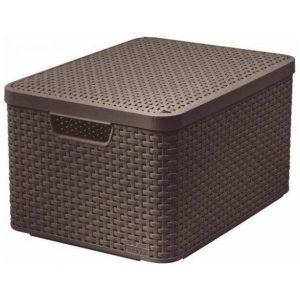 Корзина Curver Style Box L V2 205861