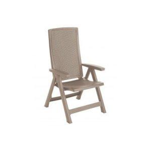 Кресло Keter Montreal (капучино) 223476