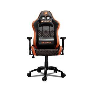 Кресло компьютерное Cougar Rampart (черный/оранжевый)