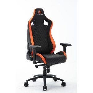 Кресло компьютерное Evolution Omega (черный/оранжевый)