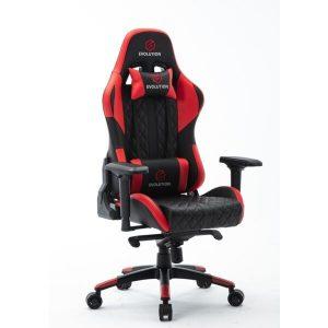 Кресло компьютерное Evolution Racer (черный/красный)