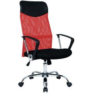 Кресло Mio Tesoro Монте AF-C9767 (черный/красный)