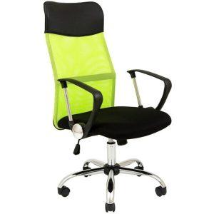 Кресло Mio Tesoro Монте AF-C9767 (черный/салатовый)