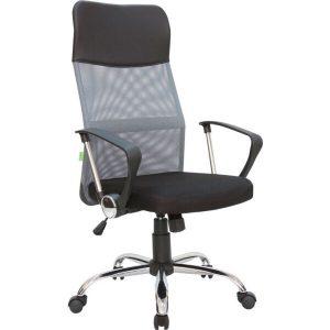 Кресло Mio Tesoro Монте AF-C9767 (черный/серый)