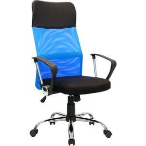 Кресло Mio Tesoro Монте AF-C9767 (черный/синий)
