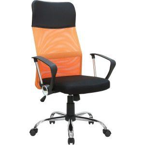 Кресло офисное Mio Tesoro Монте AF-C9767 (черный/оранжевый)