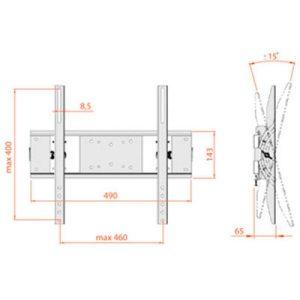 Кронштейн ELECTRICLIGHT КБ-01-54