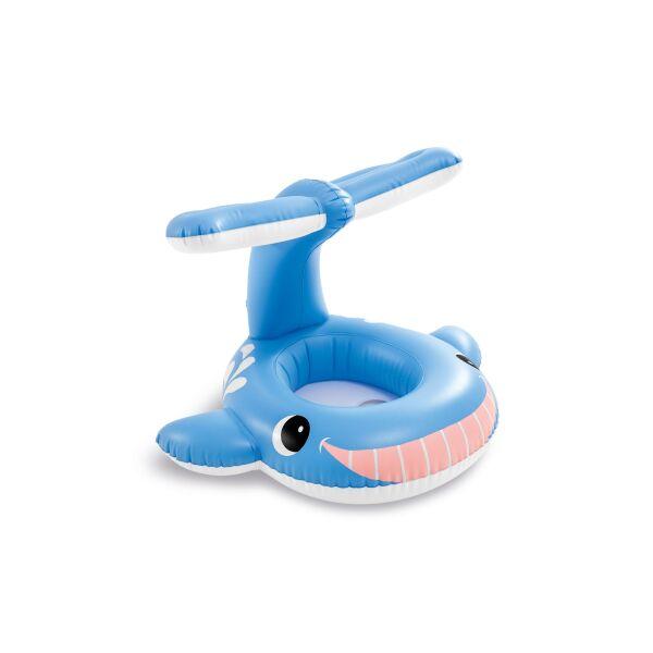 Круг-ходунки Intex Голубой кит 56591