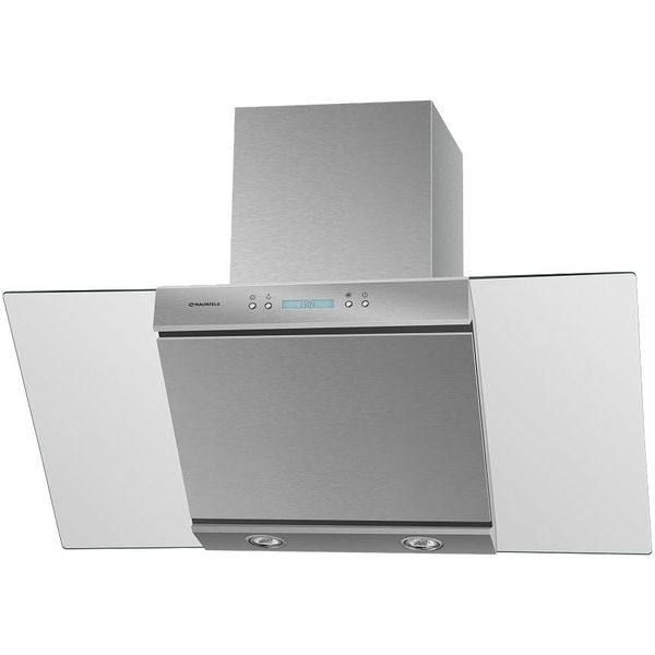 Кухонная вытяжка Maunfeld Gloria 90 (нержавеющая сталь/прозрачное стекло)