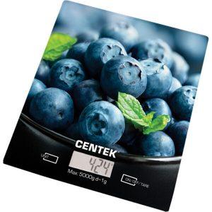 Кухонные весы CENTEK CT-2462 (голубика)