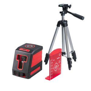Лазерный нивелир FUBAG Crystal 10R VH Set с набором аксессуаров (31623)