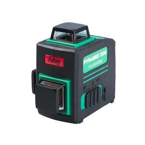 Лазерный нивелир FUBAG Pyramid 30G V2х360H360 3D зеленый луч (31632)
