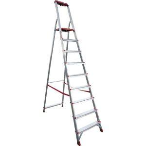 Лестница-стремянка профессиональная Новая высота NV315 (3150109) с лотком-органайзером