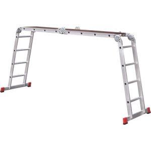 Лестница-трансформер профессиональная с помостом Новая высота NV333 (3330404)