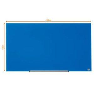 Магнитно-маркерная доска NOBO DIAMOND Glass Blue 993x559 (1905188)