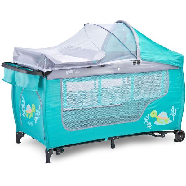 Манеж-кровать CARETERO Grande Plus (мятный)