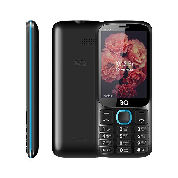Мобильный телефон BQ-Mobile BQ-3590 Step XXL+ (черный/голубой)