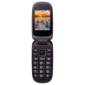 Мобильный телефон MAXCOM MM818 черный
